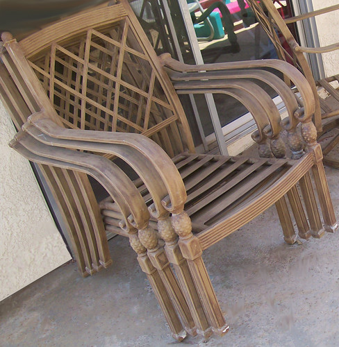 patio chairs before
