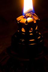 Light the Dark (dmunroephoto) Tags: light shadow macro lamp canon fire flame lowkey wick kerosene oillamp kerosenelamp canoneosrebelt1i canonef100mmf28lmacroisusm