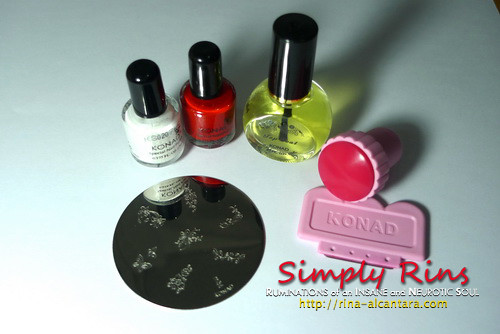 Konad Stamping Nail Art 003