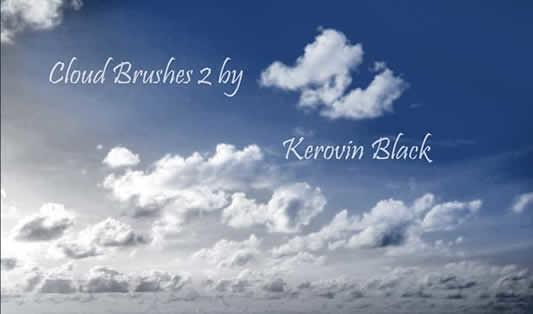 Cloud Brushes 2 - pulse en la imagen para descargar