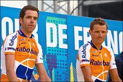 tour de france 2010 (heavenuphere) Tags: france netherlands race cycling team rotterdam europe tour nederland july presentation tourdefrance 2010 zuidholland southholland bramtankink grischaniermann 55250mm legranddépart14