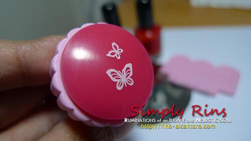 Konad Stamping Nail Art 017