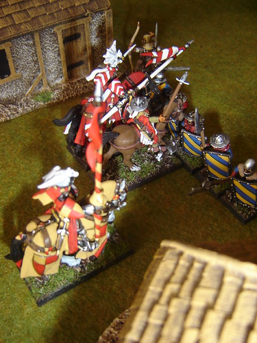 Cavalry charge hits home