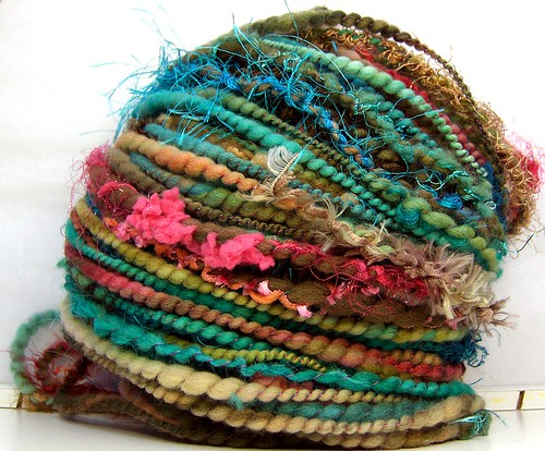 FunctionArt - Santa Fe Summer - Hand Spun Art Yarn
