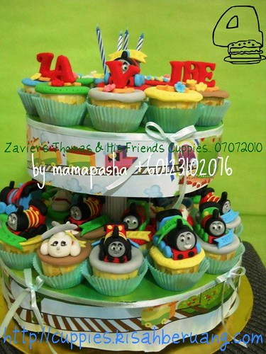 Zavier's Thomas Theme Cuppies