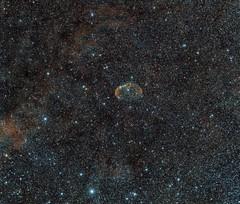 The Crescent Nebula – NGC 6888 (tmarkuk) Tags: crescent nebula astrophotography basingstoke cygnus ngc6888 Astrometrydotnet:status=solved Astrometrydotnet:version=14400 Astrometrydotnet:id=alpha20100734297995