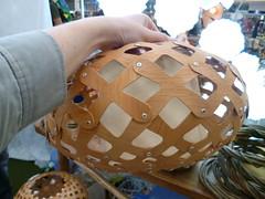 Lustre de madeira