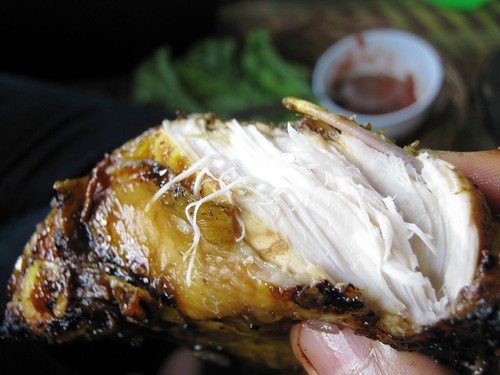 Ayam Bakar (grilled chicken)
