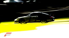 997 GT2 (jsayer) Tags: light white 3 blur colour cars lines car tarmac sport yellow contrast race speed corner dark grid design high exposure track steering low 911 racing turbo porsche forza brake 80 circuit lead rs brightness turning tyre winning gt2 sportscar motorsport drifting drift racingcar skid gt3 997 livery aclass tyremarks braking skidding inthelead 997gt2 forzamotorsport3