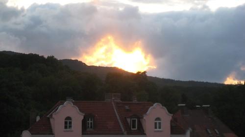 Brennender Himmel - 1
