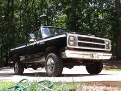 1980 Dodge Power Wagon (2010) (stevenbr549) Tags: black truck wagon power pickup dodge 1980 w150 shortbed