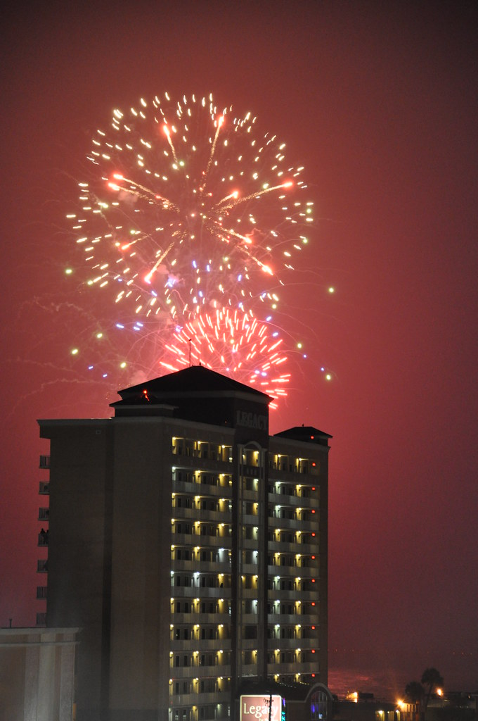 Best Beach Fireworks Th Of July Florida Panam City