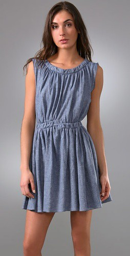thakoon denim dress