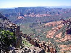 Oak Creek Canyon from Wilson Mountain Sedona O...
