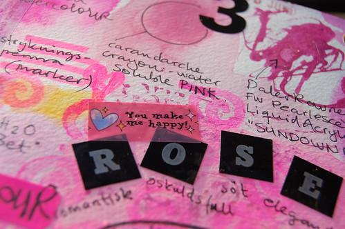 Pink detail