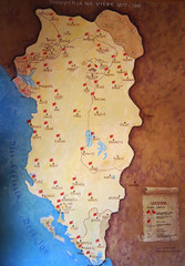 Map of Albania (ChR1sTare) Tags: old map albania borders harte shqiperia vjeter kufinj