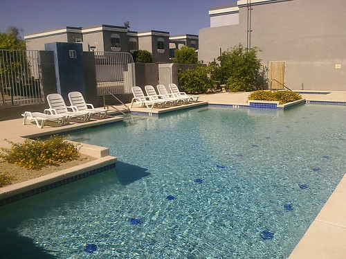 Pool at Metro Townhomes