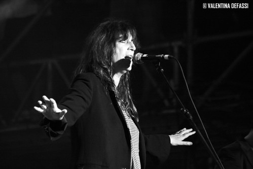 Patty Smith live @ MTV DAYS III Torino Piazza Castello