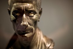 Julius Ceasar (Tom Coates) Tags: face statue roman head bust museums neuesmuseum ancientrome juliusceasar berlinmuseums romanemperors