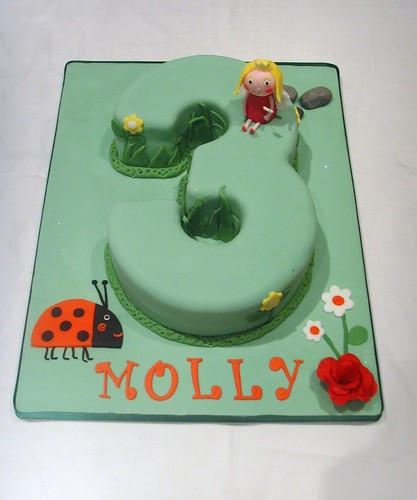 Ben and Holly Number 3 Cake