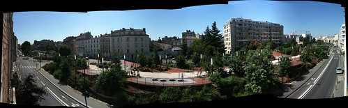 Vincennes view panorama