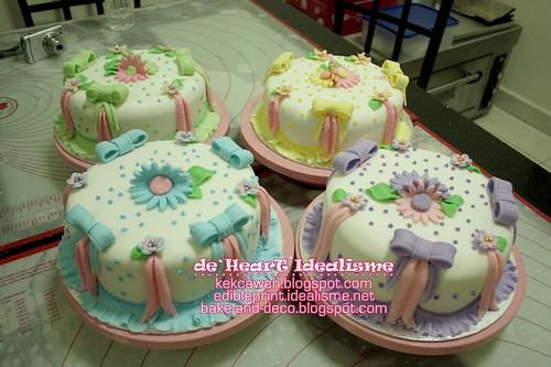 Batch 22 May 2010: Basic Fondant Cake