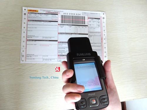 barcode reader phone. Barcode Scanner Sumlung