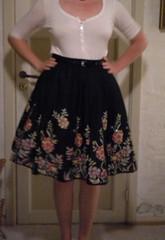 Me-made petticoat