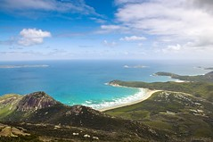 On Top of the World ([ TaGi ]) Tags: world ocean blue sea cliff mountain green beach water beautiful river out relax landscape amazing sand god top