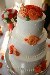 4777230565 efb3a9838f m Baú de ideias: Decoração de casamento laranja