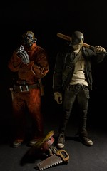 Zomb and Tommy Mission (dangercorpse) Tags: tommy 3a 16 zomb custom ashleywood threea 3atoys adventurekartel tommymission