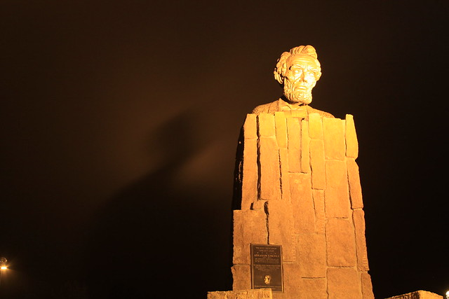 Abe Lincoln Casts a Long Shadow!