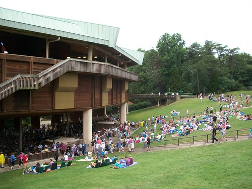 Filene Center Lawn, Wolf Trap