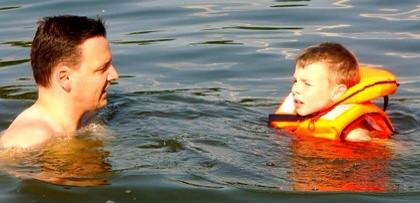 Schwimmeinweisung
