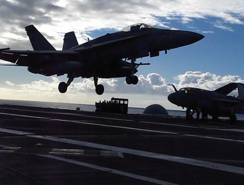 F/A 18 Hornet Landing