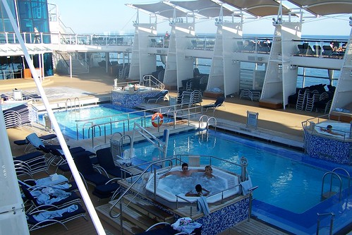 Pool Area, Celebrity Solstice