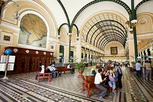 General Post Office, Ho Chi Minh City, Vietnam