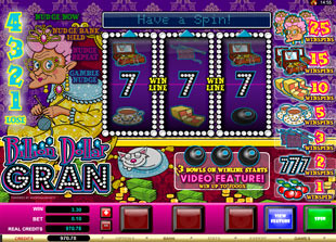 Billion Dollar Gran slot game online review