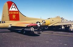 Old Warbirds (mcbooney) Tags: b24 liberator b17 flyingfortress 4engine heavybombers wwii tampa florida feb1995 peteroknightairport davisisland tampaflorida worldwartwo warbirds b17g nineonine boeing allamerican consolidated bombers heavy 4engines touringplanes