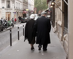 Impression von Montmartre - Simone de Beauvoir und Jean-Paul Sartre?!, Paris