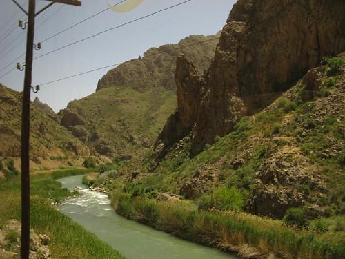 Viagem de Comboio de Divriği para Erzincan, Turquia