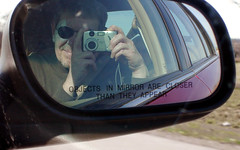 self-portrait (Mark.Swanson) Tags: selfportrait mirror illinois olympus sideview grandmarquis route55 olympusdigitalcamera rte55 1998mercury vivicam3635