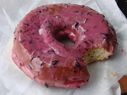 Blueberry Donut from the Doughnut Plant