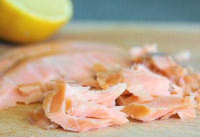 Kinvara organic roast salmon 9225 R
