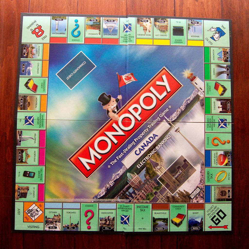 Monopoly Canada Edition Property Images