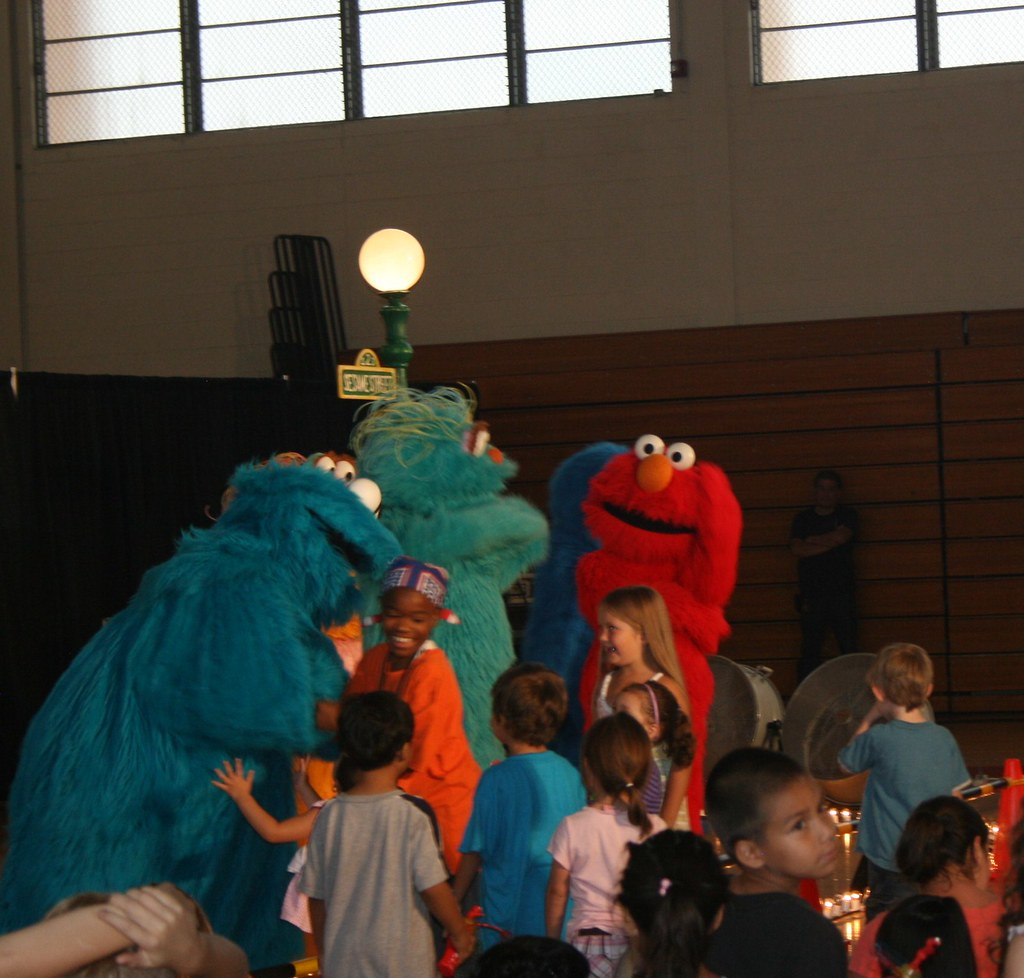 Sesame Street Visits Fort Bliss