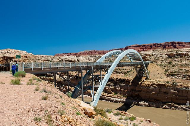 Bridge through Colorado River