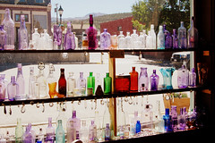 glass bottles (LolaNova) Tags: vintage rockies town colorado 1800s mining leadville