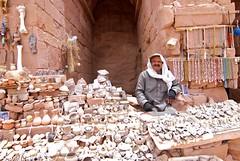 The Antique Store (evantravers) Tags: trip travel store desert petra middleeast jordan illegal pottery antiques salesman bedouin fakes