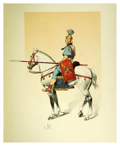003-Caballero romano-Le chic à cheval histoire pittoresque de l'équitation 1891- Louis Vallet